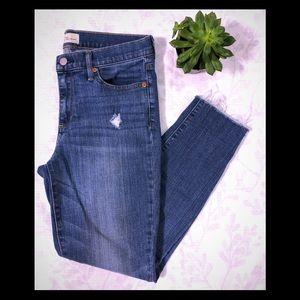 GAP True Skinny Distressed Jeans